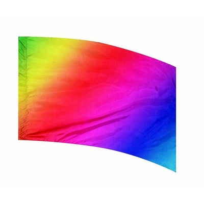 RAINBOW MULTI SHADED FLAG