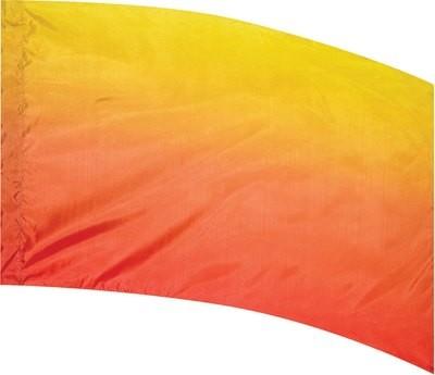 YELLOW TO ORANGE MULTI SHADED FLAG