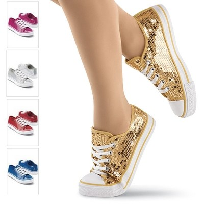 LOW TOP SEQUIN SNEAKERS