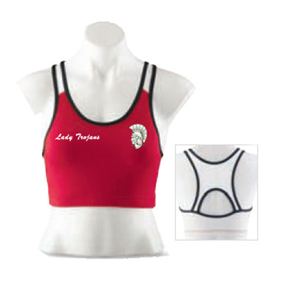 LADIES POLY/SPANDEX SPORT BRA