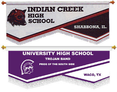 CUSTOM BANNER - INDIAN CREEK HS