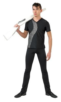 MIDNIGHT SHIMMER MALE TUNIC