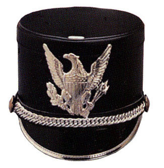 EXPRESS FLAT TOP SHAKO BLACK