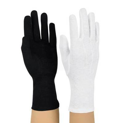 LONG WRISTED COTTON MARCHING BAND GLOVES