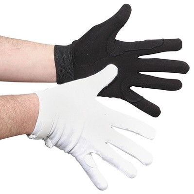 DELUXE VELCRO COTTON GLOVES