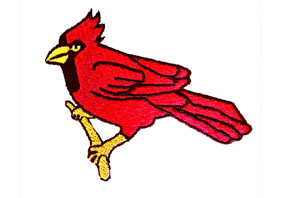 CARDINAL EMBROIDERY 01