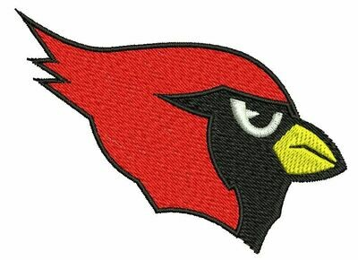 CARDINALS EMBROIDERY EMB218