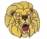LION EMBROIDERY 01