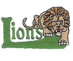 LION EMBROIDERY 02