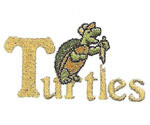 TURTLE EMBROIDERY