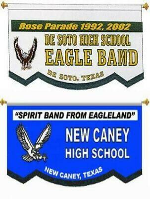 CUSTOM BANNER - DE SOTO HIGH SCHOOL