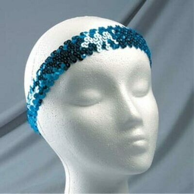 HEADBAND STRETCH SEQUIN 1