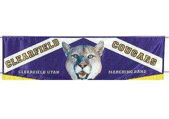 DIGITAL SATIN BANNER - CHEVRON