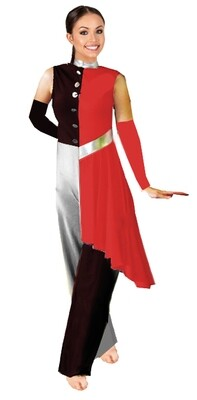 ALLWAYS THRERE COLORGUARD JUMPSUIT