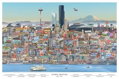 City Iconic Seattle