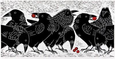 Squabbling Ravens