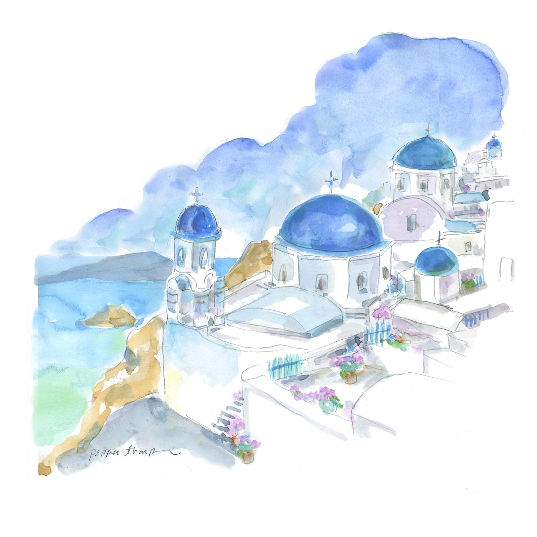 Santorini Day