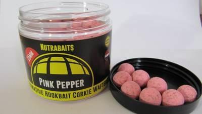 Розовый перец, бойлы нейтральной плавучести (Wafters)