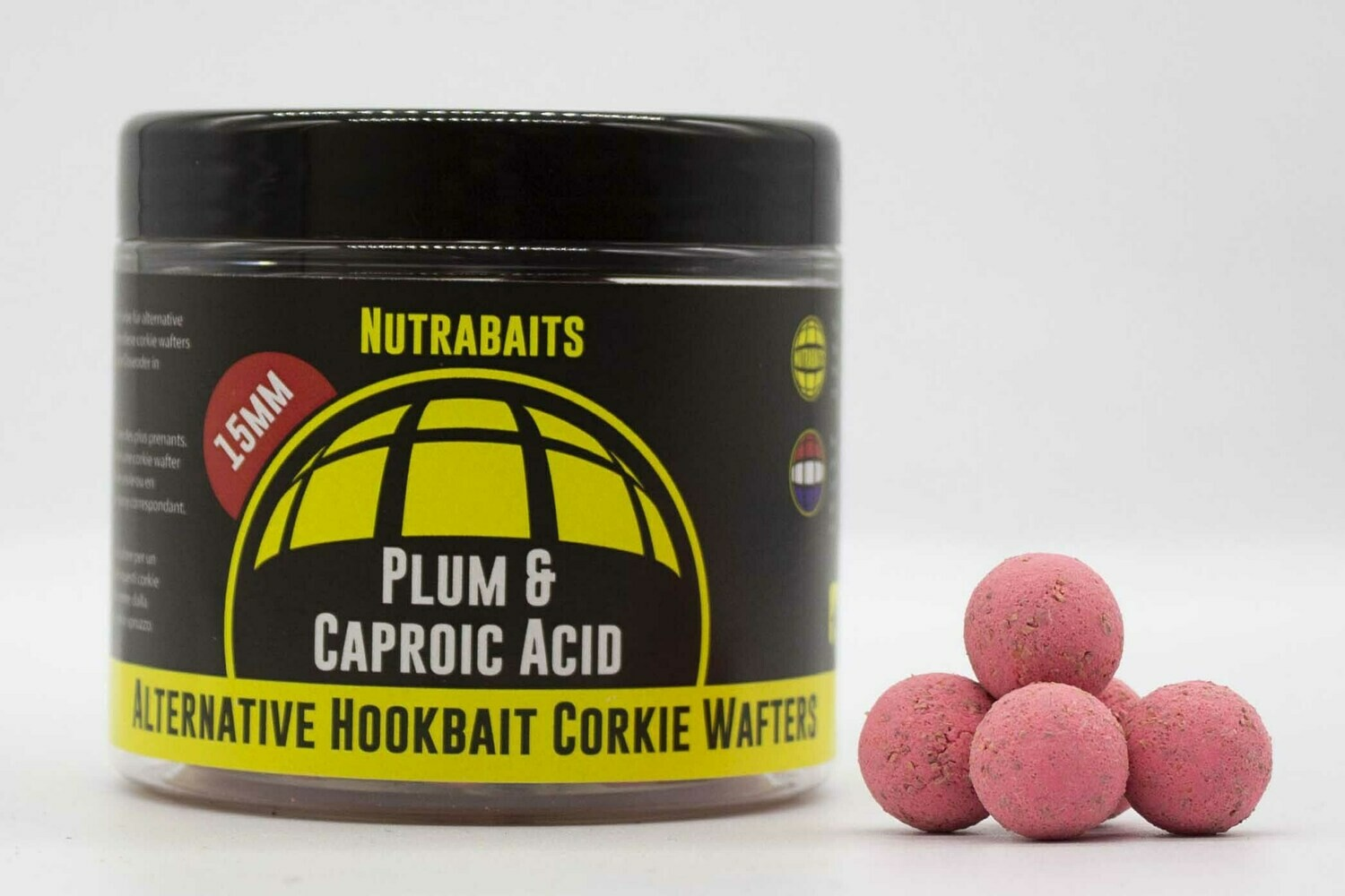 Бойлы нейтральной плавучести Corkie Wafters Plum & Caproic Acid Alternative Hook bait