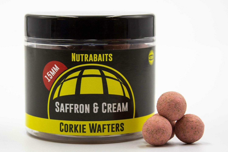 Бойлы нейтральной плавучести Corkie Wafters Saffron Cream