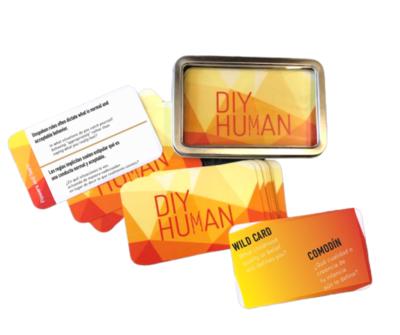 DIY Human Cards (Bilingual - Spanish & English)