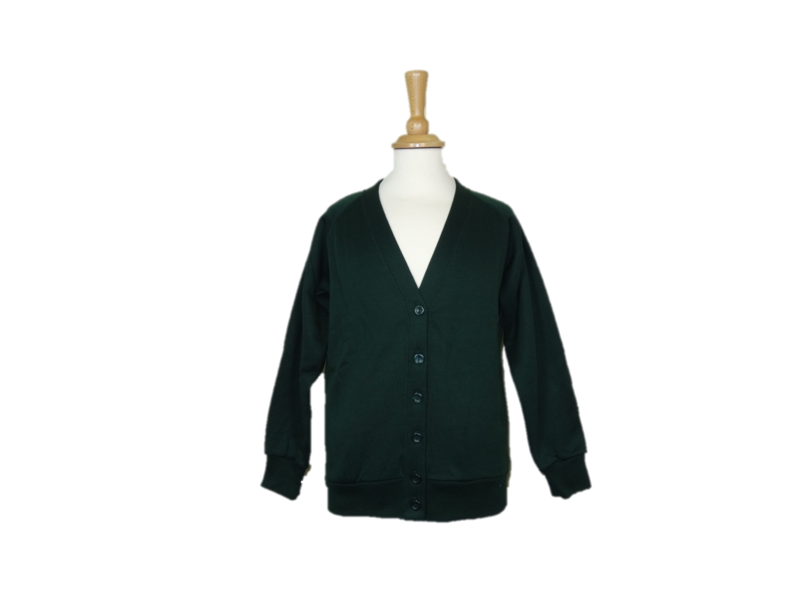 Cardigan Embroidered to Left Breast 1 colour