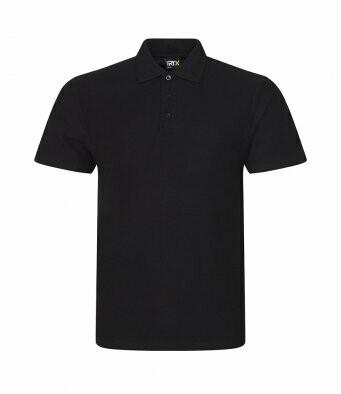 Black Polo shirt with D&B club Badge