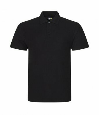 Black Polo shirt with D&B club Badge