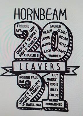 Hornbeam 2021 Leavers Hoody