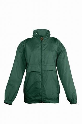 Windbreaker Jacket printed logo left breast
