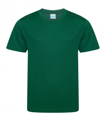 PE Performance T shirt printed logo to left breast