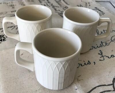 Homer Laughlin Gothic USA Mugs