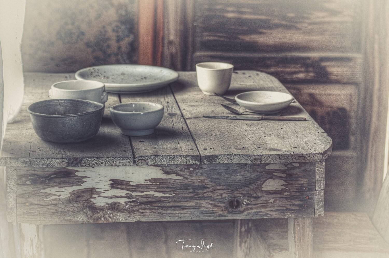 """Farmhouse Art """"Table for One"""" Digital Print"""