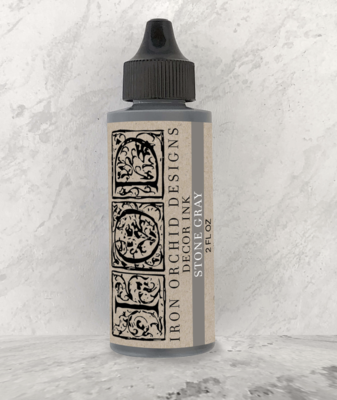 IOD DECOR INK STONE GRAY 2oz