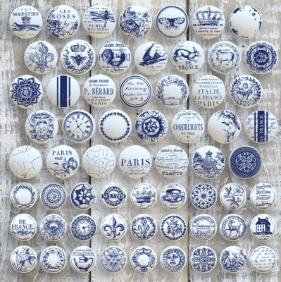IOD KNOB TOPPERS 62 Designs 12×12 DECOR STAMP