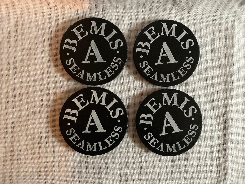 Bemis Ceramic 4 Coaster Set