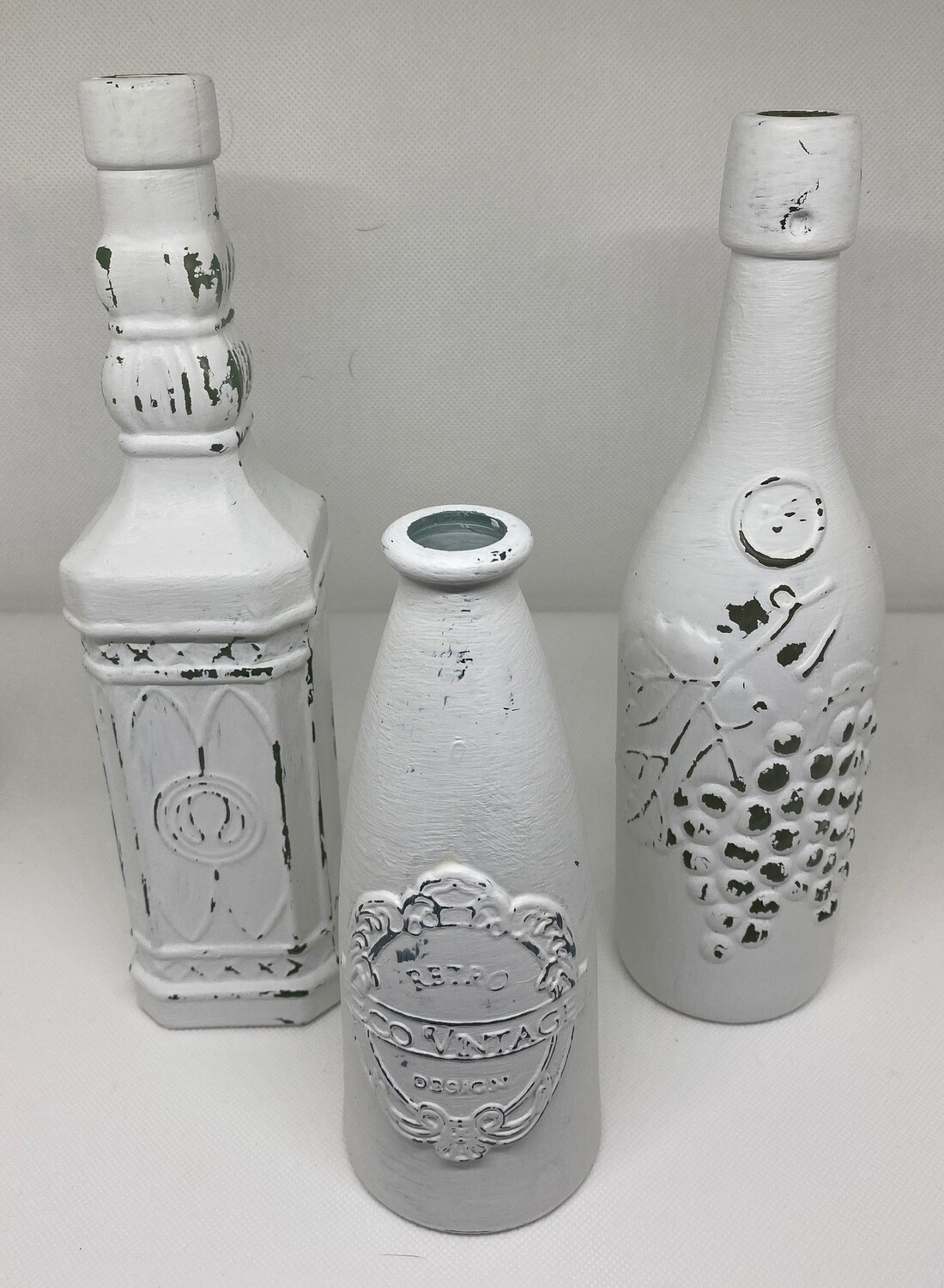 White Decorative Bottles