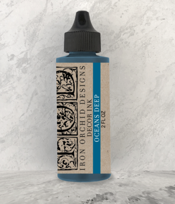 IOD DECOR INK OCEANS DEEP 2oz