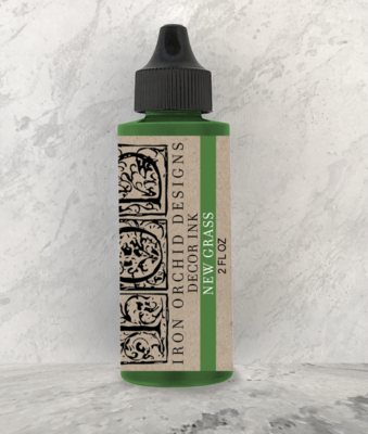 IOD DECOR INK NEW GRASS 2oz