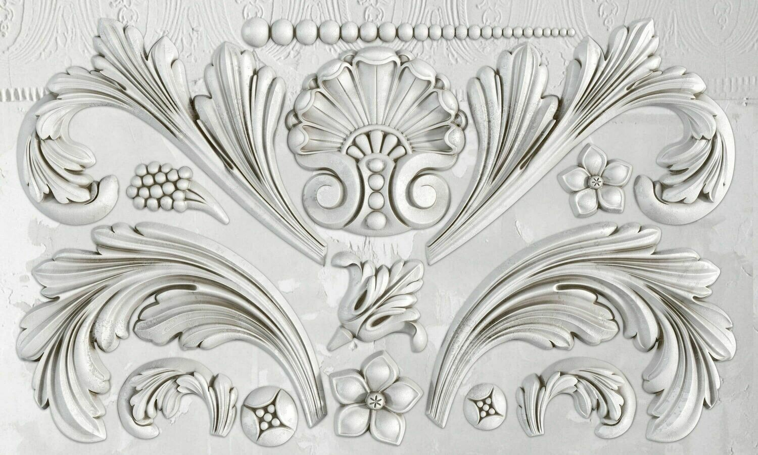 IOD ACANTHUS SCROLL 6×10 DECOR MOULD