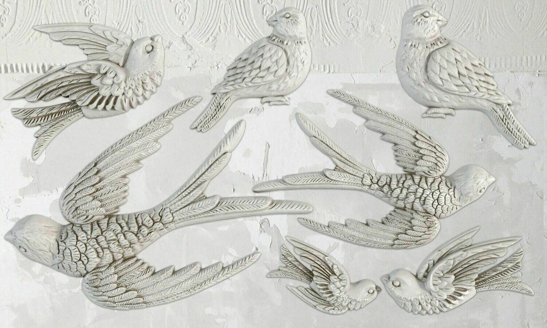 IOD BIRDSONG 6×10 DECOR MOULD