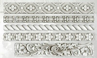 IOD TRIMMINGS 2 6×10 DECOR MOULD