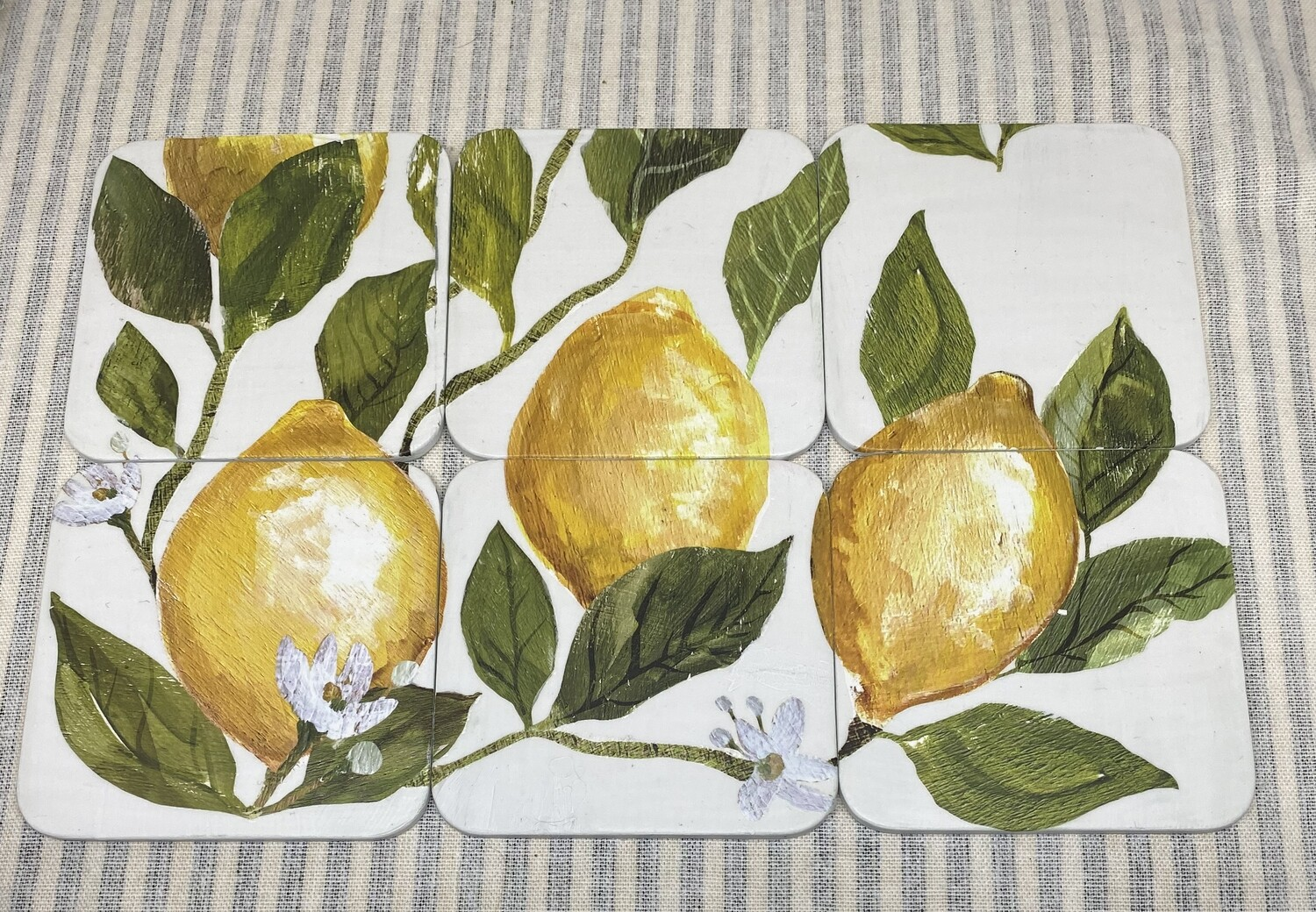 Lemon Tree Coaster Sets of 6