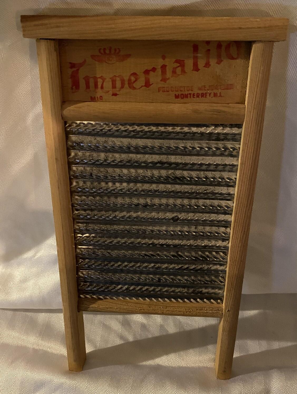 Vintage Imperial Washboard