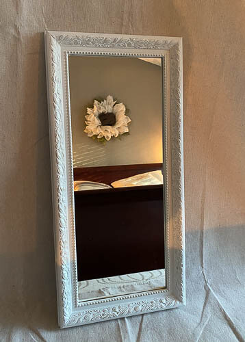 French County Inspired Oblong Wall Mirror