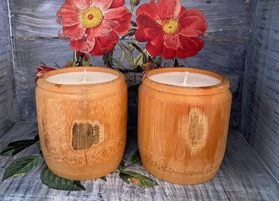 Bamboo & Coconut Soy Candles 8oz