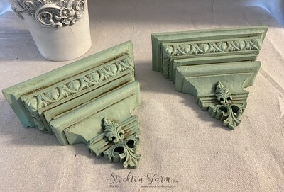 Vintage Inspired Wall Sconces Pair