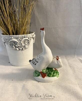 Verbilki Porcelain Geese Figurine Russia