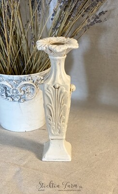 Farmhouse Inspired Ceramic Candlestick