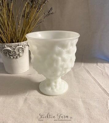 EO Brody Milk Glass M3000 Planter
